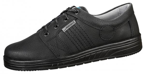 ABEBA-Air-Cushion-O2-Damen- u. Herren-Arbeits-Berufs-Schuhe, Halbschuhe, schwarz