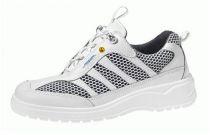 ABEBA-Light-O1-Damen- u. Herren-Arbeits-Berufs-Schuhe, Halbschuhe, weiß