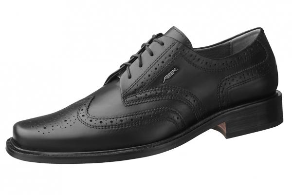 ABEBA-Manager-Herren-Arbeits-Berufs-Schuhe, schwarz