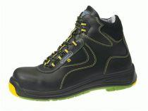 ABEBA-Static-Control-S3-Herren-Sicherheits-Arbeits-Berufs-Schuhe, hoch, Schnürstiefel, hoch, schwarz