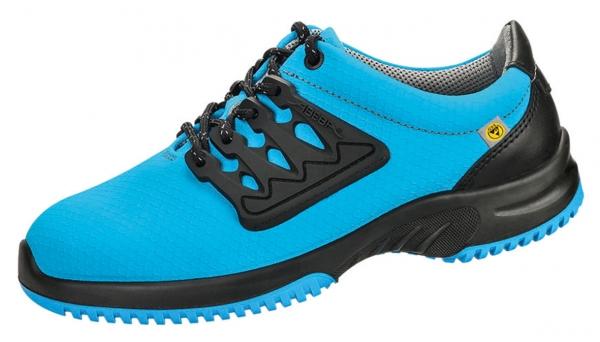 ABEBA-Uni6-S1-Damen- u. Herren-Sicherheits-Arbeits-Berufs-Schuhe, Halbschuhe, blau