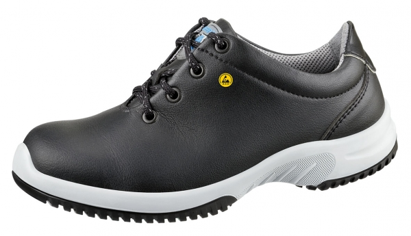 ABEBA-Uni6-S2-Damen- u. Herren-Sicherheits-Arbeits-Berufs-Schuhe, Halbschuhe, schwarz