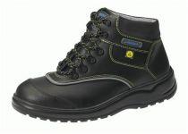 ABEBA-Light-S3-Damen- u. Herren-Sicherheits-Arbeits-Berufs-Schuhe, hoch, Schnürstiefel, schwarz