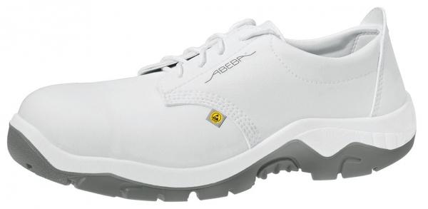 ABEBA-Anatom-S2-Damen- u. Herren-Sicherheits-Arbeits-Berufs-Schuhe, Halbschuhe, ESD, weiß