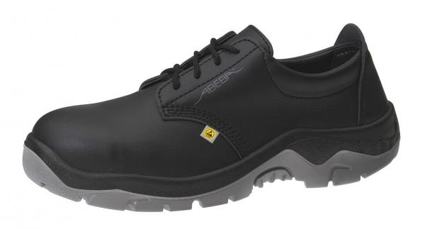 ABEBA-Anatom-S2-Damen- u. Herren-Sicherheits-Arbeits-Berufs-Schuhe, Halbschuhe, ESD, schwarz