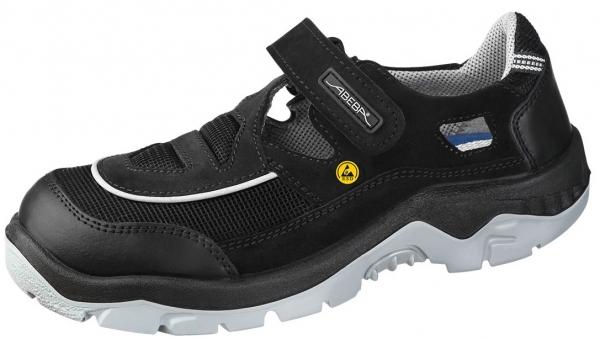 ABEBA-Anatom-S1-Damen- u. Herren-Sicherheits-Arbeits-Berufs-Sandalen, schwarz