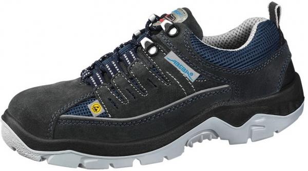 ABEBA-Anatom-S1P-Damen- u. Herren-Sicherheits-Arbeits-Berufs-Schuhe, Halbschuhe, marine