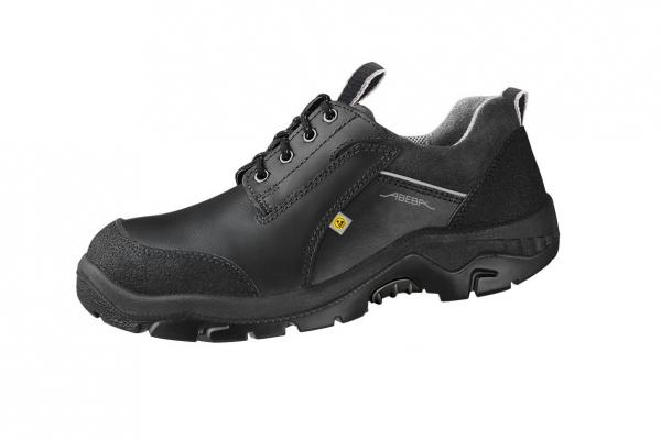 ABEBA-Anatom-S3-Damen- u. Herren-Sicherheits-Arbeits-Berufs-Schuhe, Halbschuhe, ESD, schwarz