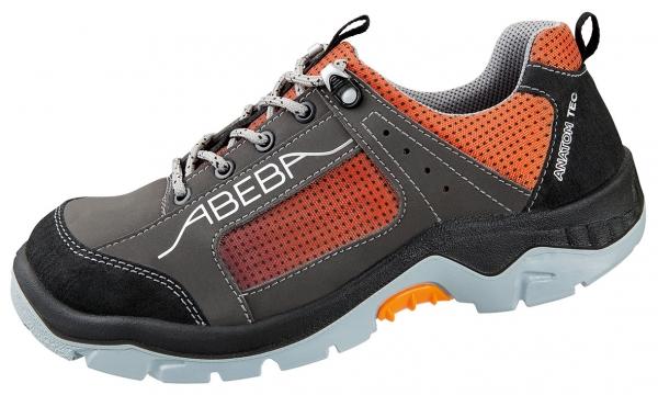 ABEBA-Anatom-S3-Damen- u. Herrensicherheitshalbschuhe, ESD, orange