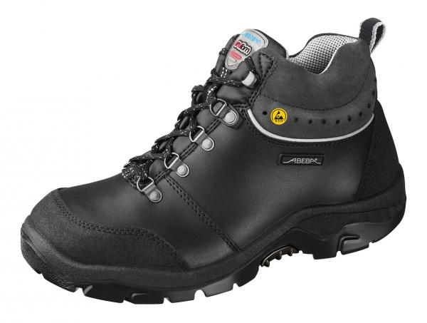 ABEBA-Anatom-S3-Damen- u. Herren-Sicherheits-Arbeits-Berufs-Schuhe, hoch, Schnürstiefel, hoch, schwarz