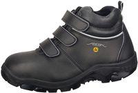 ABEBA-Anatom-S3-Damen- u. Herren-Sicherheits-Arbeits-Berufs-Schuhe, hoch, Schnürstiefel, schwarz