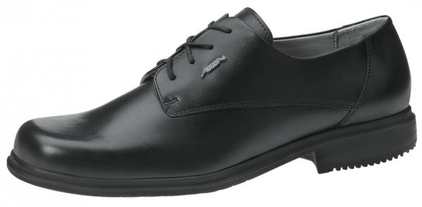 ABEBA-Business-Men-O1-Herren-Arbeits-Berufs-Schuhe, Halbschuhe, schwarz