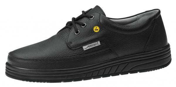 ABEBA-Air-Cushion-O1-Damen- u. Herren-Arbeits-Berufs-Schuhe, ESD, schwarz