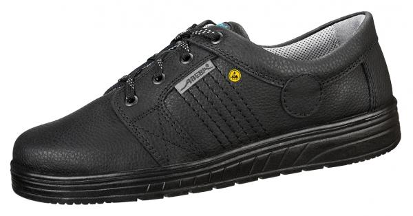 ABEBA-Air-Cushion-O1-Damen- u. Herren-Arbeits-Berufs-Schuhe, Halbschuhe, schwarz
