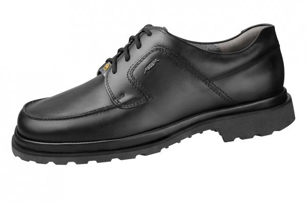 ABEBA-Business-Men-Herren-Arbeits-Berufs-Schuhe, Halbschuhe, schwarz