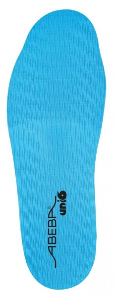 ABEBA-Schuh-Zubehör, Uni6-Einlegesohlen, Soft Comfort, weit, für Sicherheitsschuhe Uni6, blau