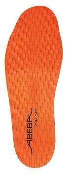 ABEBA-Schuh-Zubehör, Anatom-Einlegesohle, orange