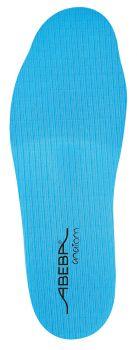 ABEBA-Schuh-Zubehör, Anatom-Einlegesohle, blau