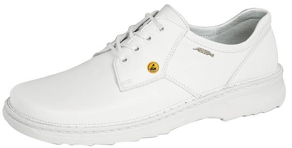ABEBA-Reflexor-O1-Herren-Arbeits-Berufs-Schuhe, Halbschuhe, weiß