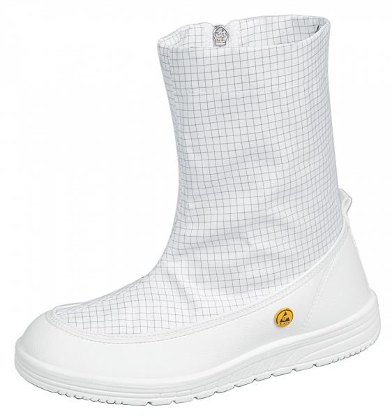 ABEBA-OB-Sicherheits-Arbeits-Berufs-Schuhe, Spezialstiefel, weiss
