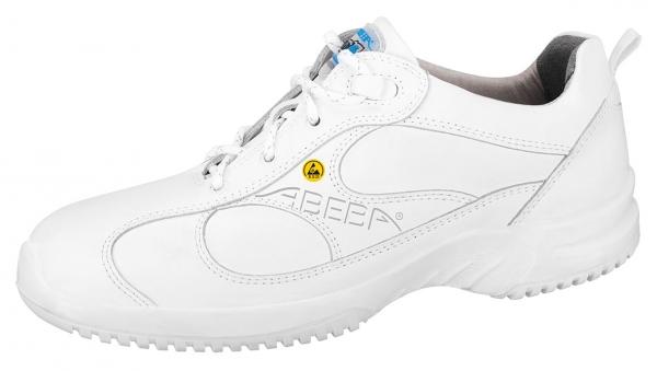 ABEBA-Uni6-O2-Damen- und Herren-Arbeits-Berufs-Schuhe, ESD, weiß