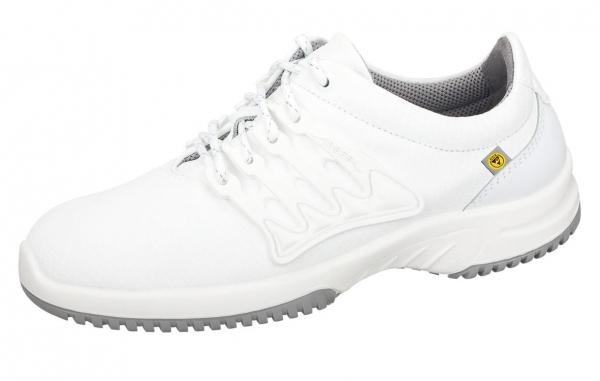 ABEBA-Uni6-O1-Damen- und Herren-Arbeits-Berufs-Schuhe, ESD, weiß