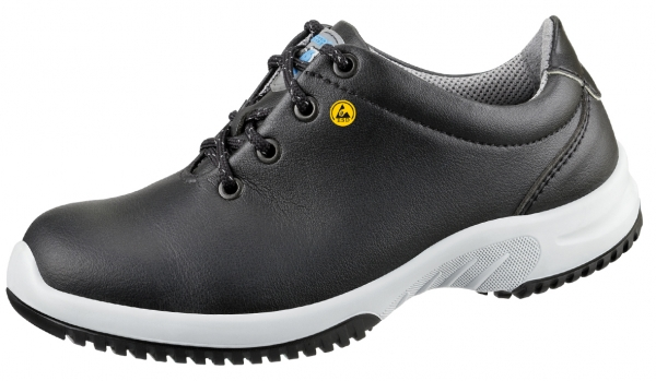 ABEBA-Uni6-O2-Damen- und Herren-Arbeits-Berufs-Schuhe, ESD, schwarz