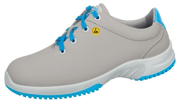 ABEBA-Uni6-O2-Damen- und Herren-Arbeits-Berufs-Schuhe, ESD, grau/blau