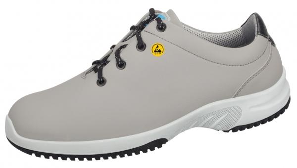 ABEBA-Uni6-O2-Damen- und Herren-Arbeits-Berufs-Schuhe, ESD, grau/schwarz