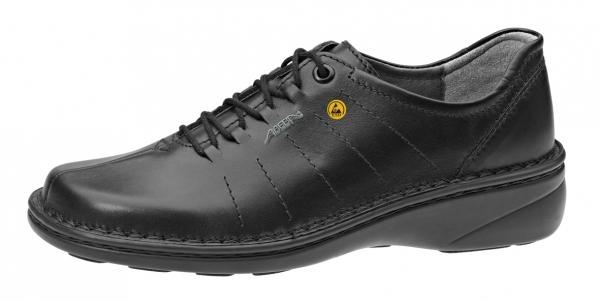 ABEBA-Reflexor-O1-DamenSicherheits-Arbeits-Berufs-Schuhe, Halbschuhe, schwarz