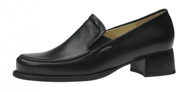ABEBA-Business-Lady-Damen-Arbeits-Berufs-Schuhe, Trotteur, schwarz