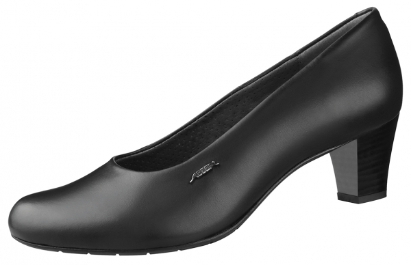 ABEBA-Business-Lady-Damen-Arbeits-Berufs-Schuhe, Pumps, schwarz