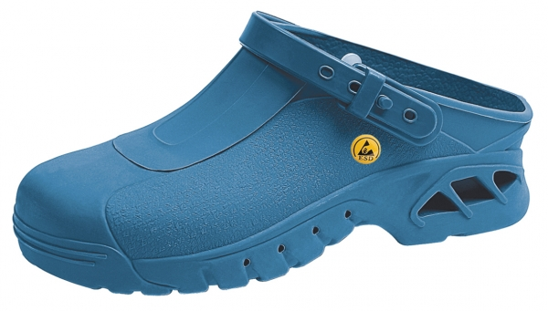 ABEBA-Damen- und Herren-Sicherheits-Arbeits-Berufs-Clogs, blau