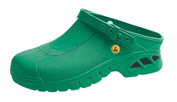 ABEBA-Damen- und Herren-Sicherheits-Arbeits-Berufs-Clogs, grün