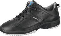 ABEBA-Uni6-O1-Damen- und Herren-Arbeits-Berufs-Schuhe, schwarz