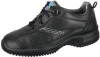 ABEBA-Uni6-O2-Damen- und Herren-Arbeits-Berufs-Schuhe, schwarz