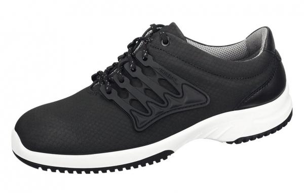 ABEBA-Uni6-O1-Damen- und Herren-Arbeits-Berufs-Schuhe,schwarz