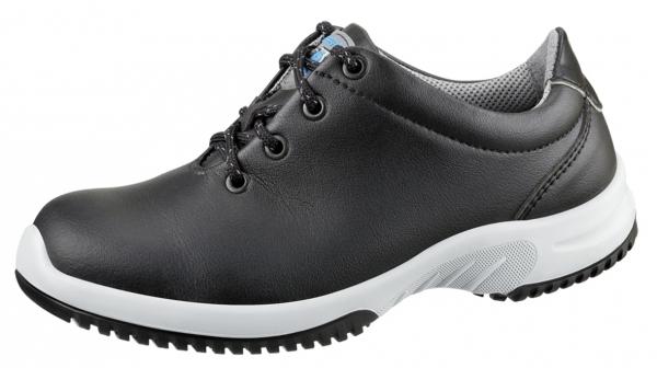 ABEBA-Uni6-O2-Damen- und Herren-Arbeits-Berufs-Schuhe, schwarz/grau