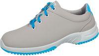 ABEBA-Uni6-O2-Damen- und Herren-Arbeits-Berufs-Schuhe, grau/blau