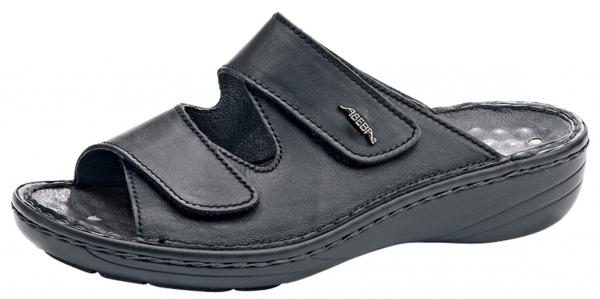 ABEBA-Reflexor-OB-Damen-Arbeits-Berufs-Pantoletten, schwarz
