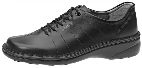 ABEBA-Reflexor-O1-Damen-Arbeits-Berufs-Schuhe, schwarz