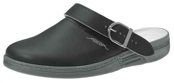 ABEBA-The-Original-OB-Damen- u. Herren-Arbeits-Berufs-Clogs, schwarz