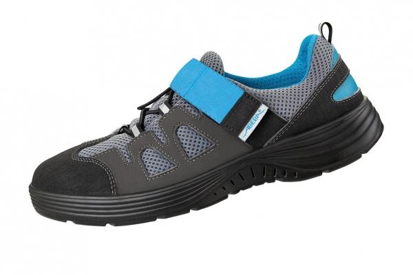 ABEBA-X-LIGHT-S1-Damen-und Herrensicherheitsschuhe, schwarz/blau