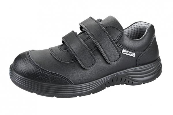 ABEBA-X-LIGHT-S2-Damen-und Herrenklettschuh, schwarz