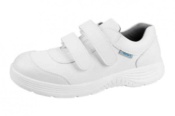 ABEBA-X-LIGHT-S2-Damen-und Herrenklettschuh, weiß