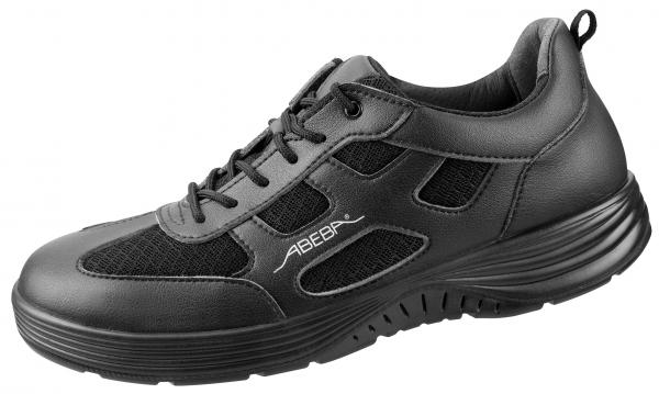 ABEBA-X-LIGHT-O2-Damen-und Herrenschnürschuhe, schwarz