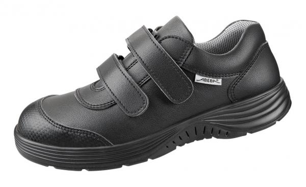 ABEBA-X-LIGHT-O2-Damen-und Herrenklettschuhe, schwarz
