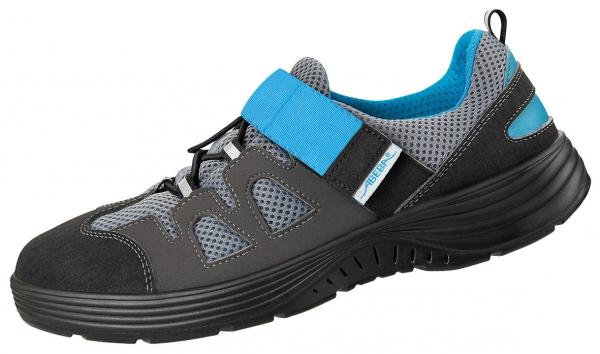 ABEBA-X-LIGHT-S1-Damen-und Herrenschnürschuhe, ESD, schwarz/blau