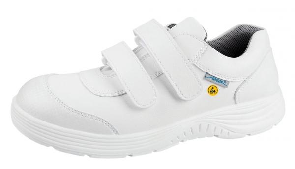 ABEBA-X-LIGHT-S2-Damen- u. Herren-Sicherheits-Arbeits-Berufs-Schuhe, Halbschuhe, weiß