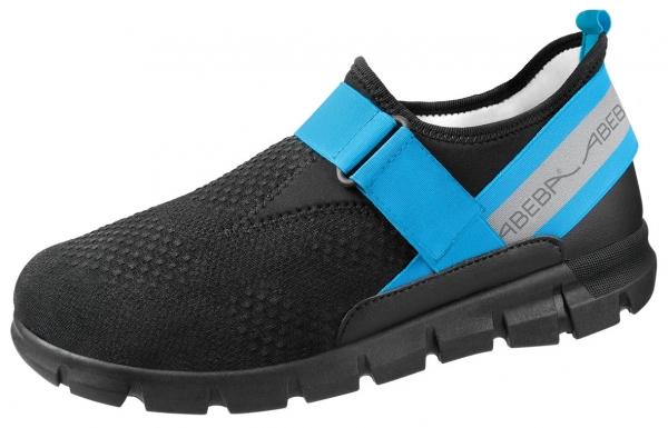 ABEBA-Dynamic-Flow-A-micro-Damen- und Herrenhalbschuhe, schwarz/blau